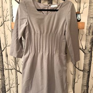 Calvin Klein Light Grey Shift Dress